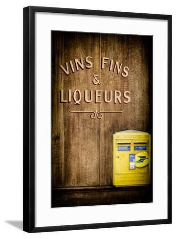 Paris Focus - French Box Letters-Philippe Hugonnard-Framed Art Print