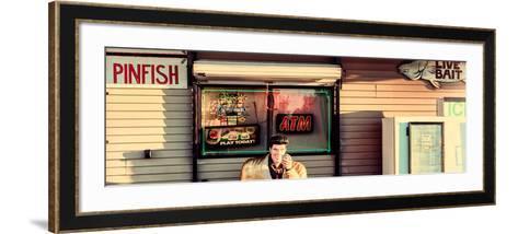 Old Traditional American Bar Restaurant-Philippe Hugonnard-Framed Art Print