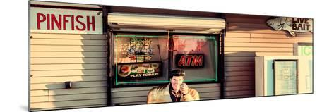 Old Traditional American Bar Restaurant-Philippe Hugonnard-Mounted Photographic Print