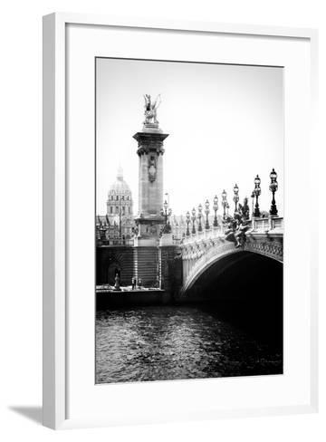 Paris Focus - Paris City Bridge-Philippe Hugonnard-Framed Art Print
