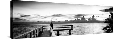 Pier at Sunset-Philippe Hugonnard-Stretched Canvas Print