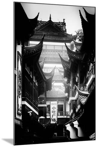 China 10MKm2 Collection - Traditional Architecture in Yuyuan Garden - Shanghai-Philippe Hugonnard-Mounted Photographic Print