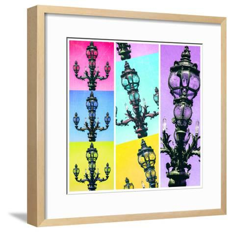 Paris Focus - Paris Pop Art-Philippe Hugonnard-Framed Art Print