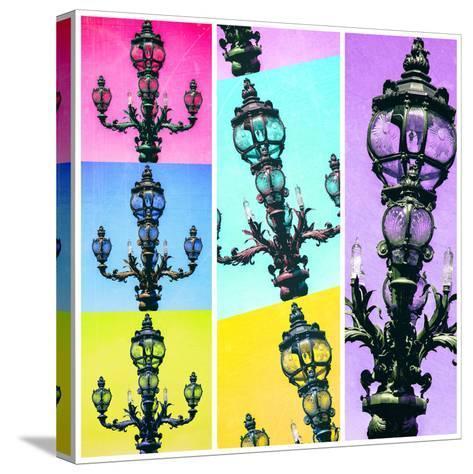 Paris Focus - Paris Pop Art-Philippe Hugonnard-Stretched Canvas Print