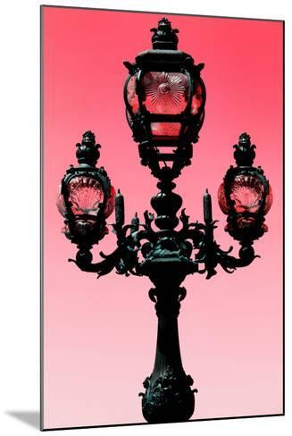 Paris Focus - Colors French Lamppost-Philippe Hugonnard-Mounted Photographic Print