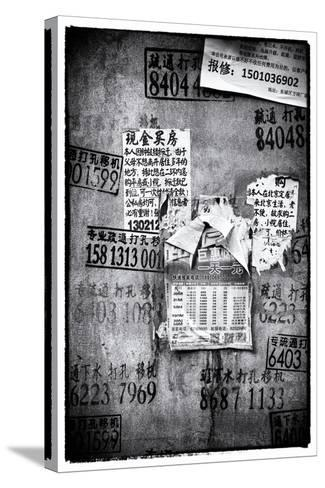 China 10MKm2 Collection - Wild Postings-Philippe Hugonnard-Stretched Canvas Print