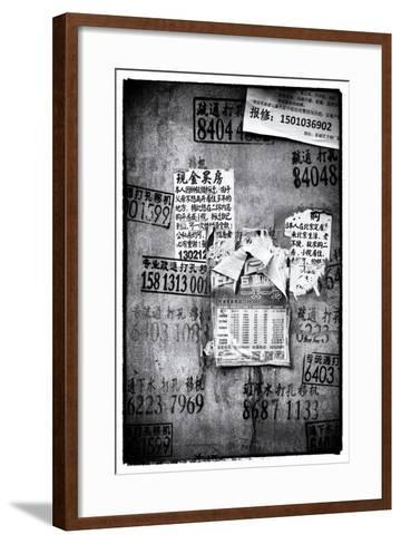 China 10MKm2 Collection - Wild Postings-Philippe Hugonnard-Framed Art Print
