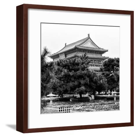 China 10MKm2 Collection - Xi'an Architecture - Temple-Philippe Hugonnard-Framed Art Print