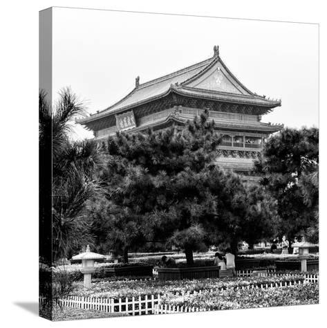 China 10MKm2 Collection - Xi'an Architecture - Temple-Philippe Hugonnard-Stretched Canvas Print