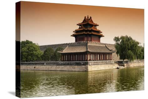 China 10MKm2 Collection - Watchtower - Forbidden City-Philippe Hugonnard-Stretched Canvas Print
