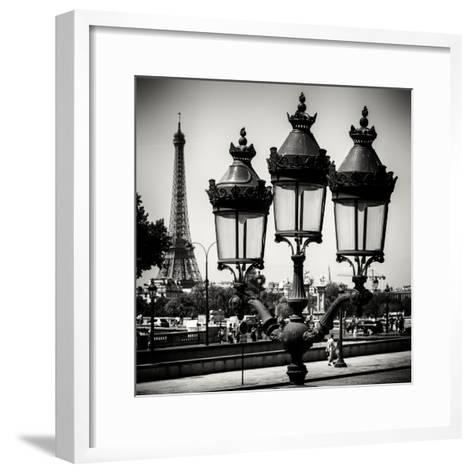 Paris Focus - Paris Je T'aime-Philippe Hugonnard-Framed Art Print