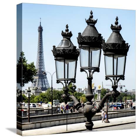 Paris Focus - Paris Je T'aime-Philippe Hugonnard-Stretched Canvas Print