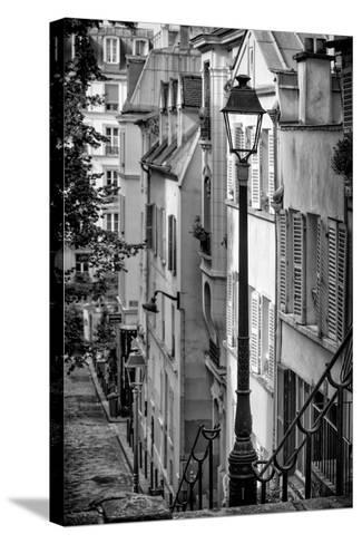 Paris Focus - Montmartre-Philippe Hugonnard-Stretched Canvas Print