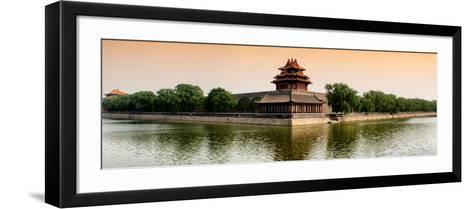 China 10MKm2 Collection - Watchtower - Forbidden City - Beijing-Philippe Hugonnard-Framed Art Print