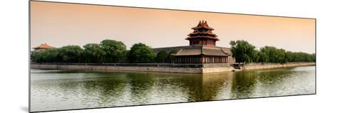 China 10MKm2 Collection - Watchtower - Forbidden City - Beijing-Philippe Hugonnard-Mounted Photographic Print