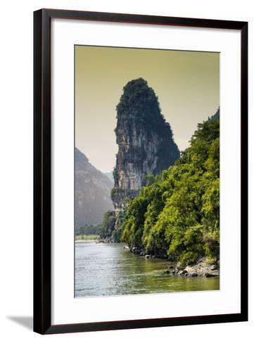 China 10MKm2 Collection - Yangshuo Li River-Philippe Hugonnard-Framed Art Print