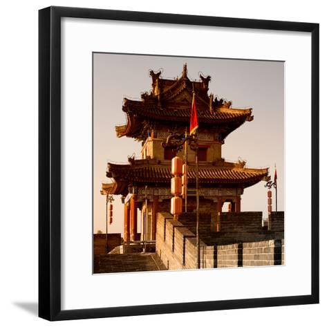 China 10MKm2 Collection - Xi'an Architecture-Philippe Hugonnard-Framed Art Print