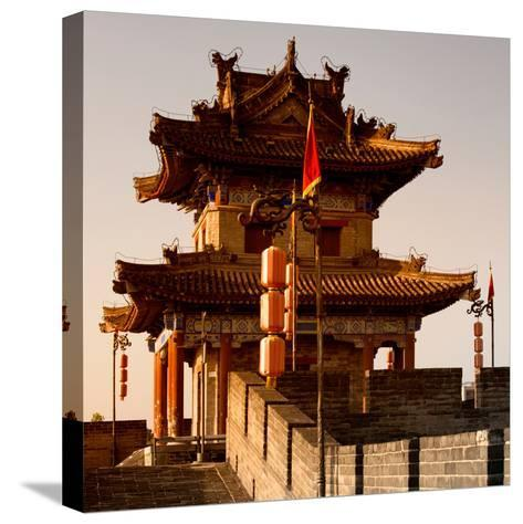 China 10MKm2 Collection - Xi'an Architecture-Philippe Hugonnard-Stretched Canvas Print