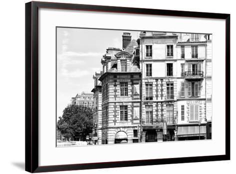 Paris Focus - French Architecture-Philippe Hugonnard-Framed Art Print