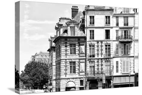 Paris Focus - French Architecture-Philippe Hugonnard-Stretched Canvas Print