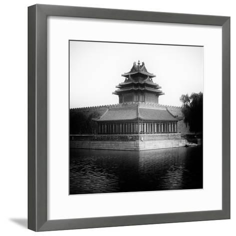 China 10MKm2 Collection - Watchtower - Forbidden City-Philippe Hugonnard-Framed Art Print