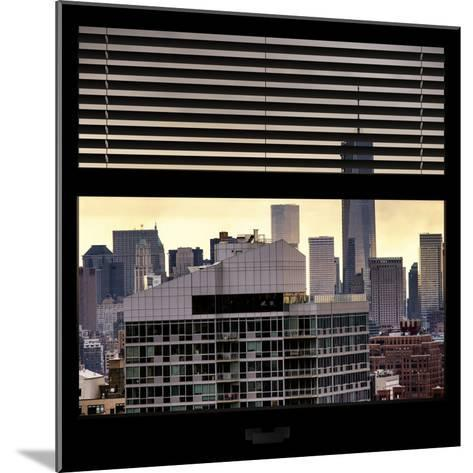 View from the Window - One World Trade Center-Philippe Hugonnard-Mounted Photographic Print