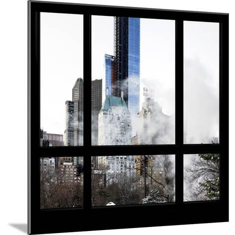 View from the Window - Central Park Buildings-Philippe Hugonnard-Mounted Photographic Print
