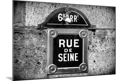 Paris Focus - Rue de Seine-Philippe Hugonnard-Mounted Photographic Print