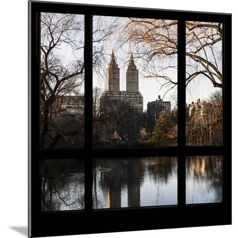 View from the Window - Central Park in Autumn-Philippe Hugonnard-Mounted Photographic Print