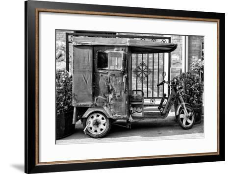 China 10MKm2 Collection - Tricycle-Philippe Hugonnard-Framed Art Print
