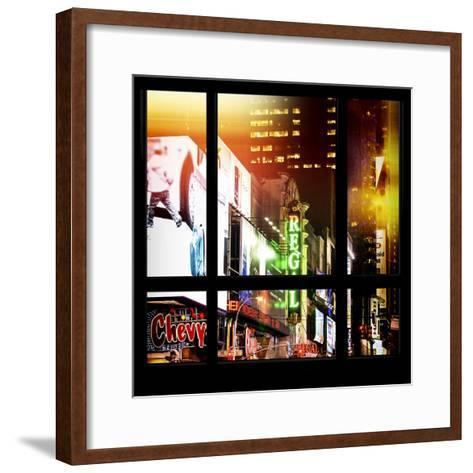 View from the Window - New York City Light-Philippe Hugonnard-Framed Art Print