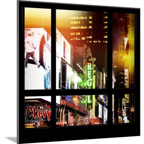 View from the Window - New York City Light-Philippe Hugonnard-Mounted Photographic Print