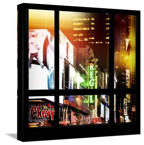 View from the Window - New York City Light-Philippe Hugonnard-Stretched Canvas Print