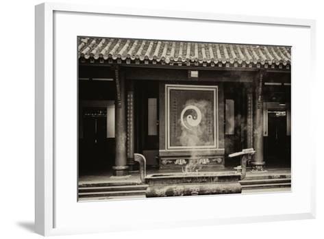 China 10MKm2 Collection - Yin Yang-Philippe Hugonnard-Framed Art Print