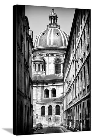 Paris Focus - Institut de France-Philippe Hugonnard-Stretched Canvas Print