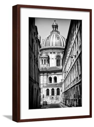 Paris Focus - Institut de France-Philippe Hugonnard-Framed Art Print