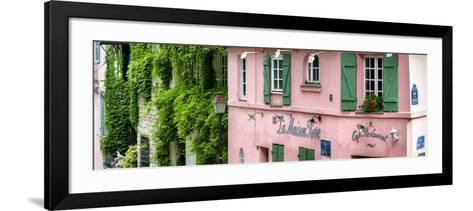 Paris Focus - La Maison Rose in Montmartre-Philippe Hugonnard-Framed Art Print