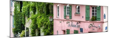 Paris Focus - La Maison Rose in Montmartre-Philippe Hugonnard-Mounted Photographic Print