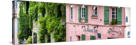 Paris Focus - La Maison Rose in Montmartre-Philippe Hugonnard-Stretched Canvas Print