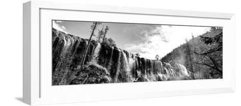 China 10MKm2 Collection - Waterfalls in the Jiuzhaigou National Park-Philippe Hugonnard-Framed Art Print