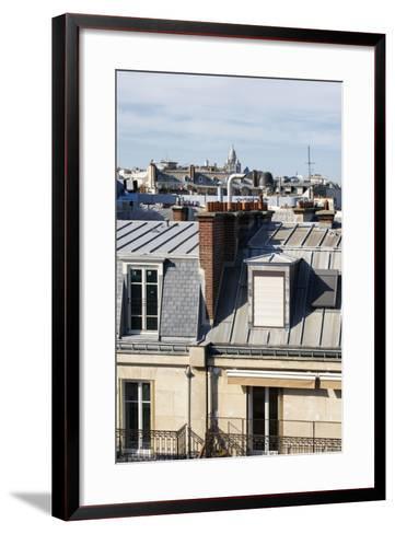 Paris Focus - Paris Roofs-Philippe Hugonnard-Framed Art Print