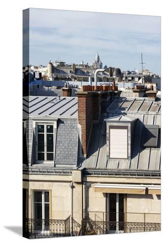 Paris Focus - Paris Roofs-Philippe Hugonnard-Stretched Canvas Print