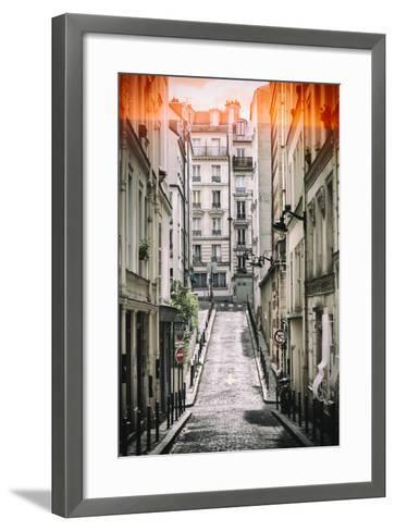 Paris Focus - Paris Montmartre-Philippe Hugonnard-Framed Art Print