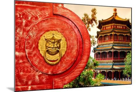 China 10MKm2 Collection - The Door God - Summer Palace-Philippe Hugonnard-Mounted Photographic Print