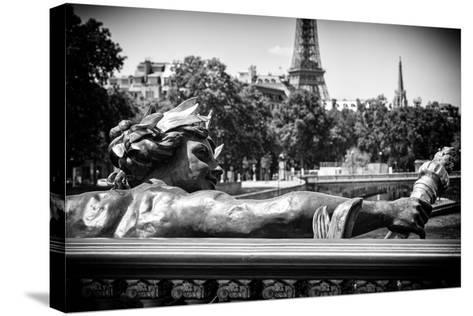 Paris Focus - Liberty Bridge-Philippe Hugonnard-Stretched Canvas Print