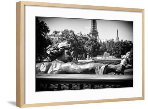 Paris Focus - Liberty Bridge-Philippe Hugonnard-Framed Art Print