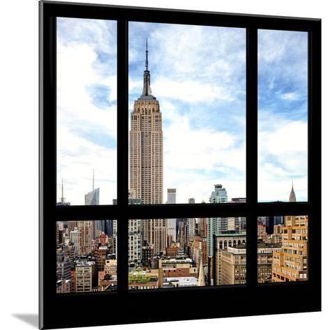 View from the Window - Manhattan-Philippe Hugonnard-Mounted Photographic Print