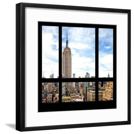 View from the Window - Manhattan-Philippe Hugonnard-Framed Art Print