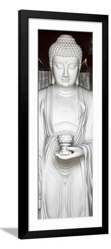 China 10MKm2 Collection - White Buddha-Philippe Hugonnard-Framed Art Print