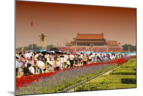 China 10MKm2 Collection - Tiananmen Square-Philippe Hugonnard-Mounted Photographic Print